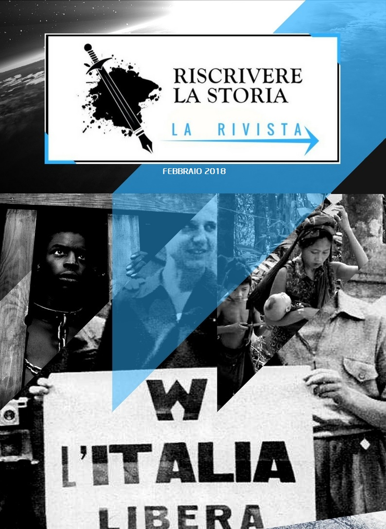 FINALMENTE DISPONIBILE SU AMAZON: RISCRIVERE LA STORIA - LA RIVISTA N°2!
