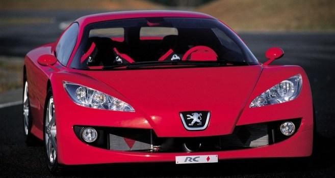 Top Sports Cars & Bikes: Peugeot Cars