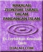Makalah Zeonisme Israel Dalam Pandangan Islam