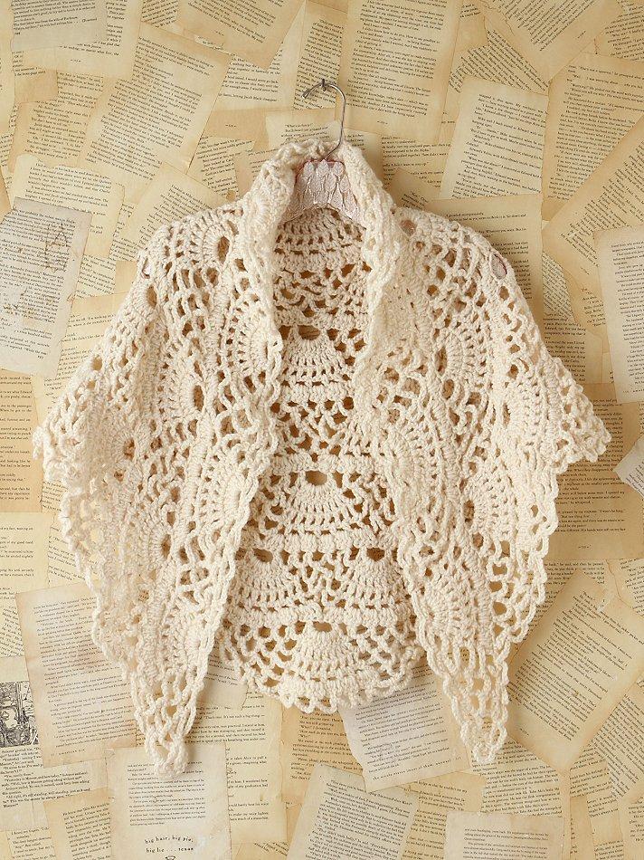 Free Vintage Crochet Bolero Patterns : Crinochet: Beige Top and other Vintage Pieces