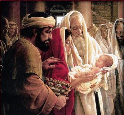 Fiesta de la Luz en la Presentación del Señor: Domingo 2 de febrero, a las 7:30 de la tarde
