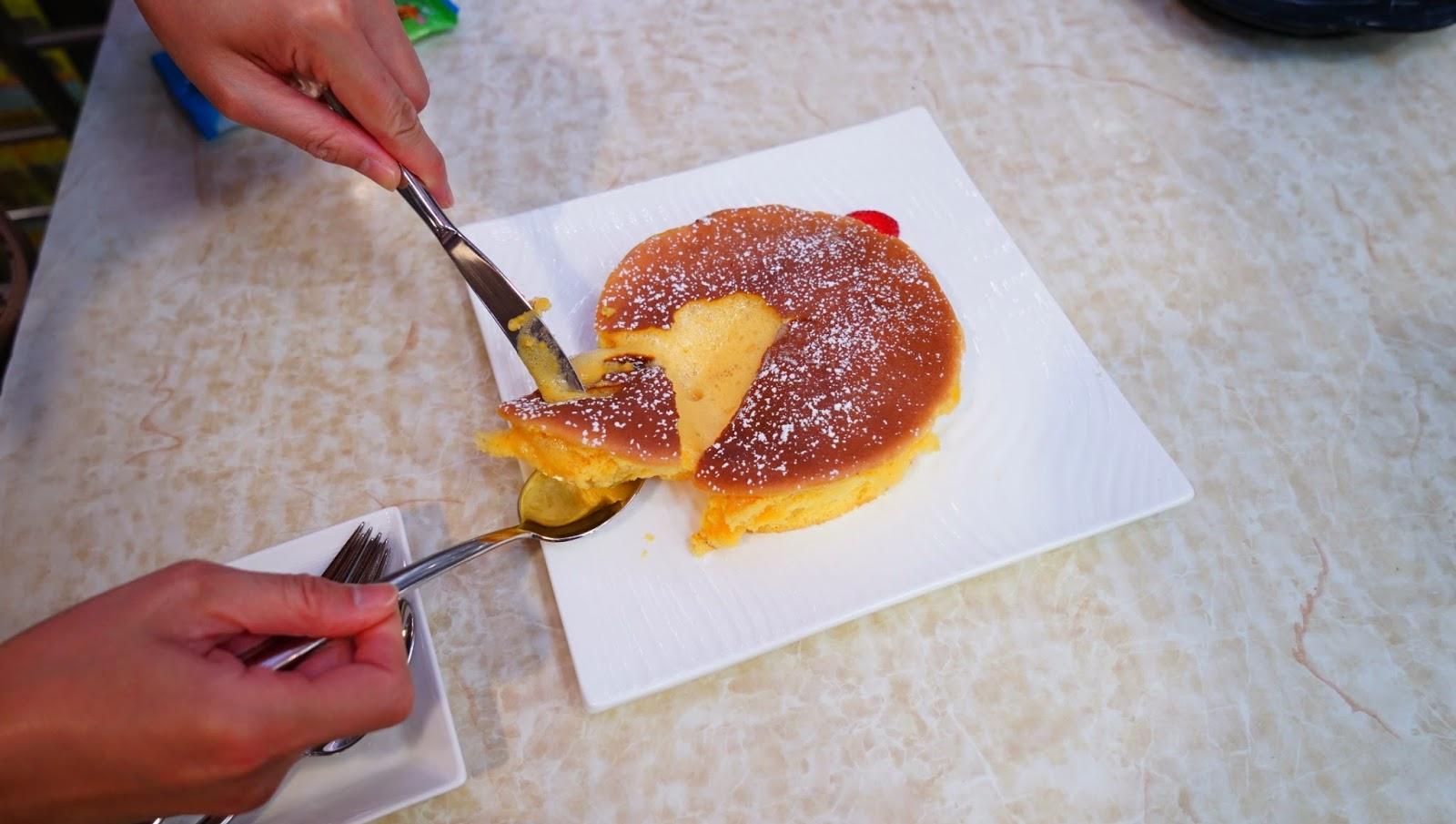 香港深水埗甜蜜總部 甜品蜂蜜流心蛋糕