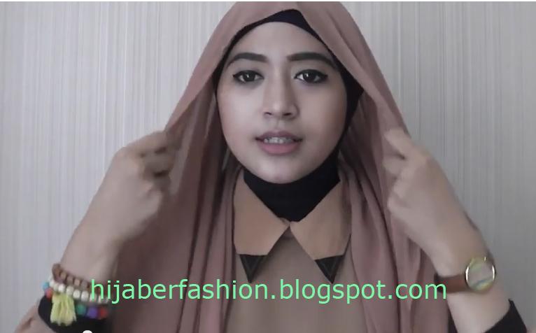Hijab Tutorial Pashmina Ceruti Yang Praktis