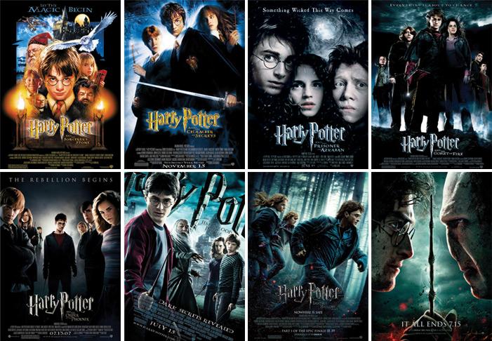 Saga Harry Potter BrRip 1080p Audio dual