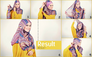 Hijab Tutorial Modern di 2013