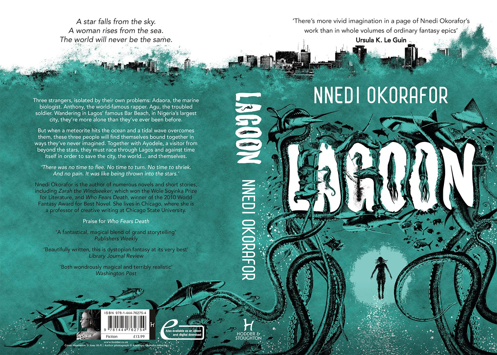 Book Cover Illustration Questions : Nnedi s wahala zone full jacket for lagoon a few