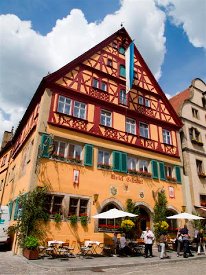 Restaurante en Rothenburg ob der Tauber