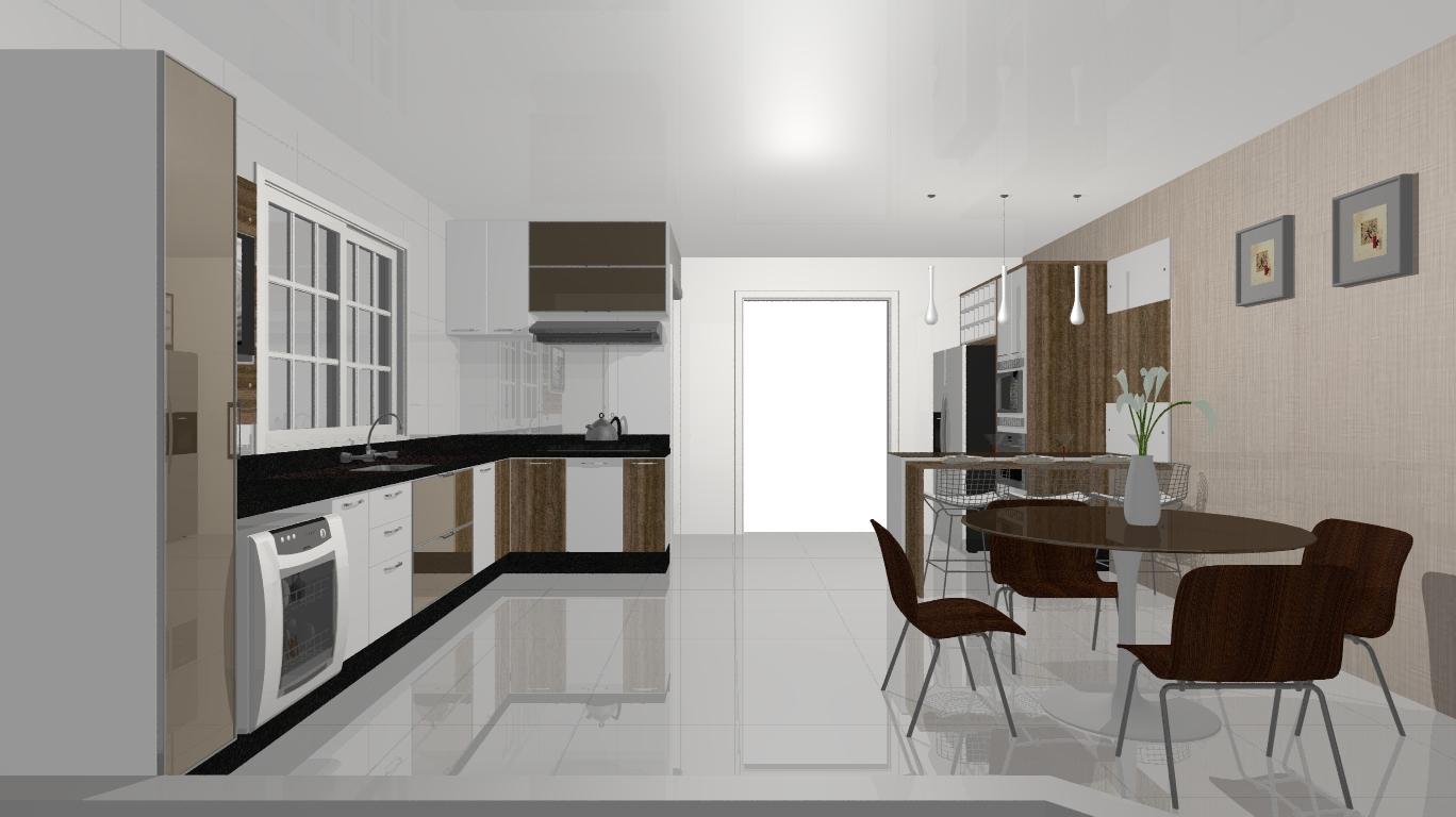 Gla Paula Design de Interiores: Cozinha Planejada NEW #51603A 1368 768