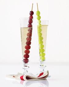 Twaalf druiven voor geluk.