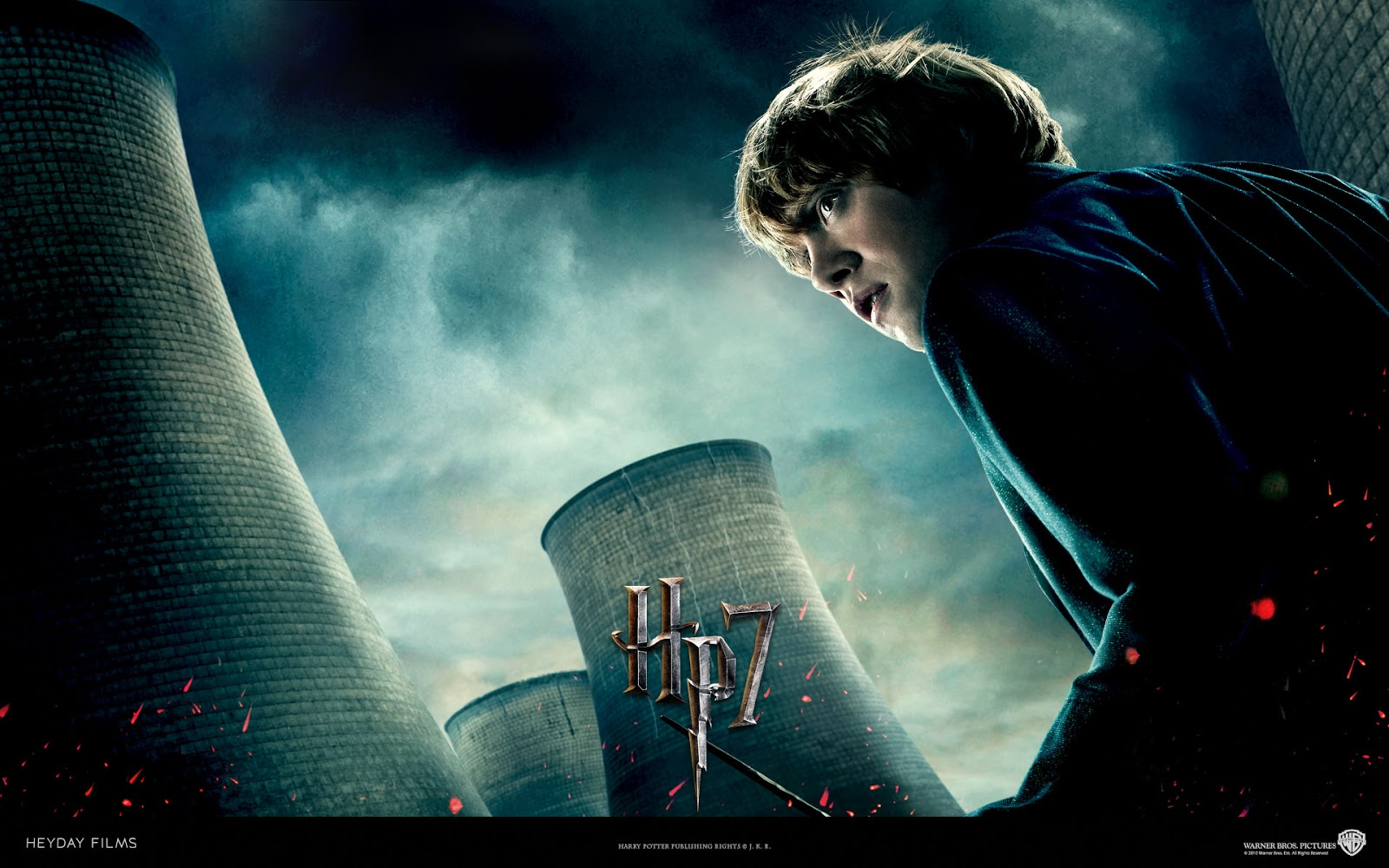 Harry Potter Deathly Hallows Wallpaper Ron Weasley