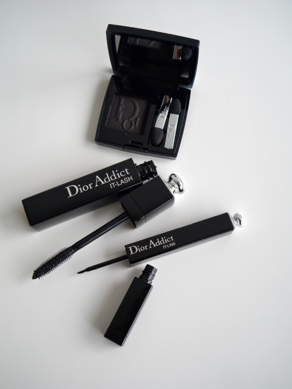 Dior Addict It-Line and It-Lash, and Diorshow Mono eyeshadow