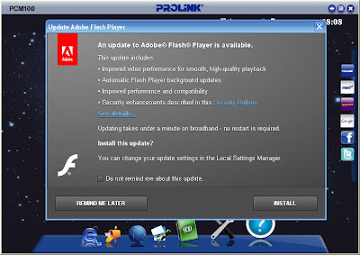 Adobe Flash Player installer
