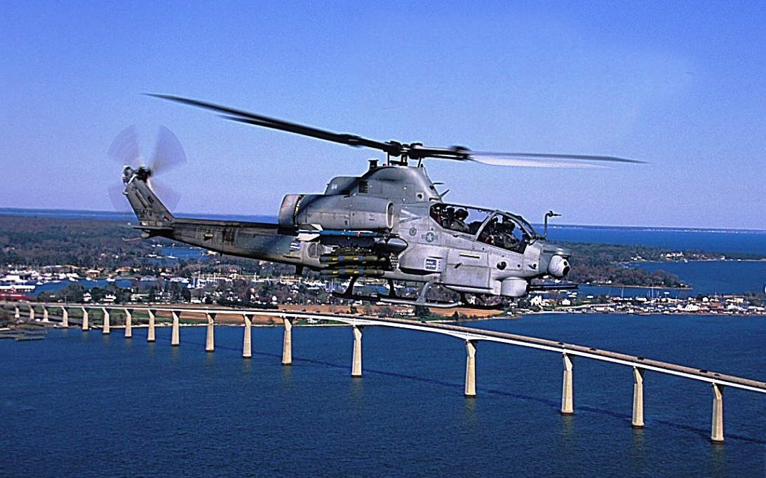 AH-1Z Viper, wallpaper helikopter tempur 4