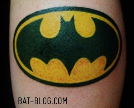 bat blog batman toys and collectibles batman tattoo art extravaganza. Black Bedroom Furniture Sets. Home Design Ideas