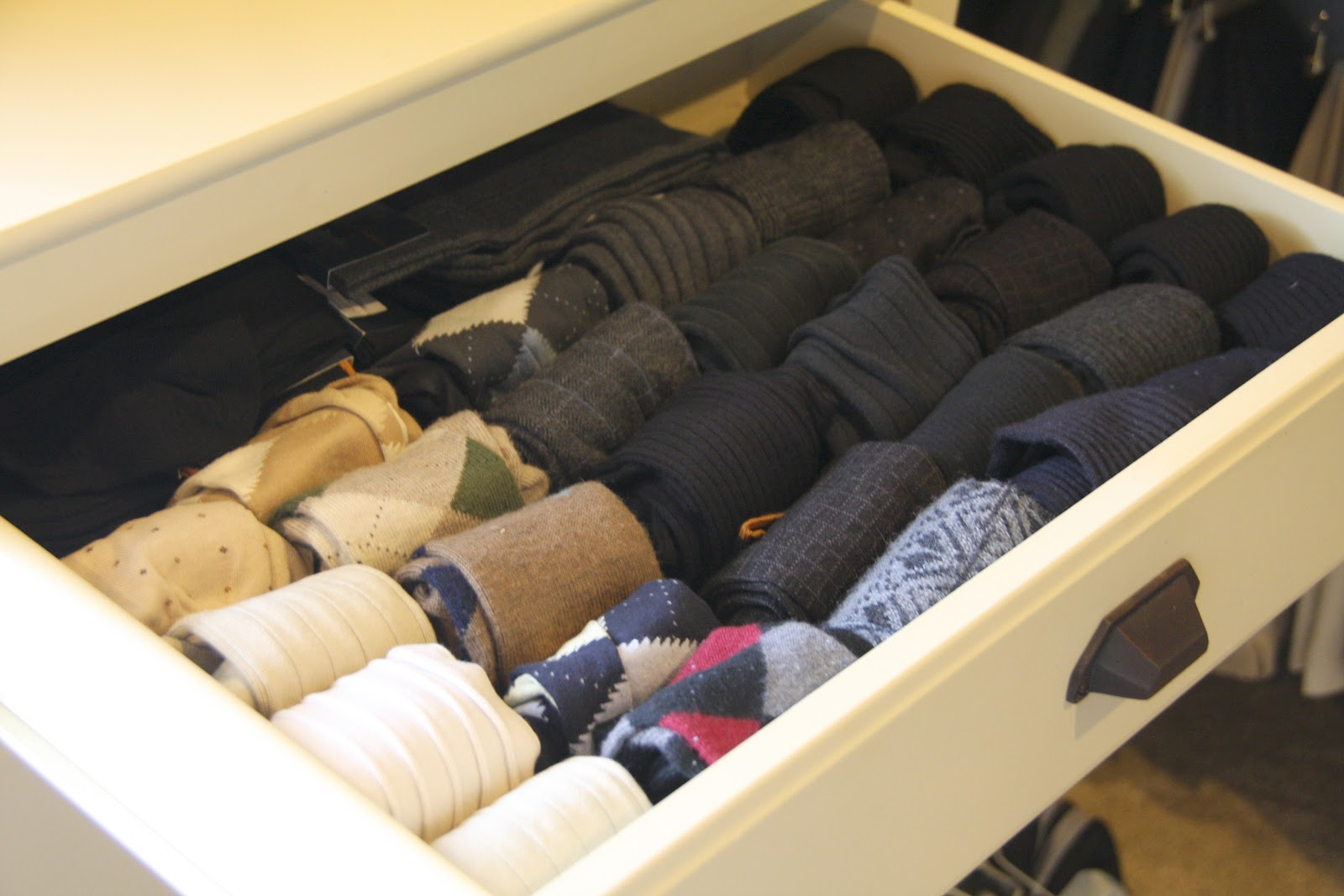 It 39 s the little things day 3 simply organized for T shirt drawer organization