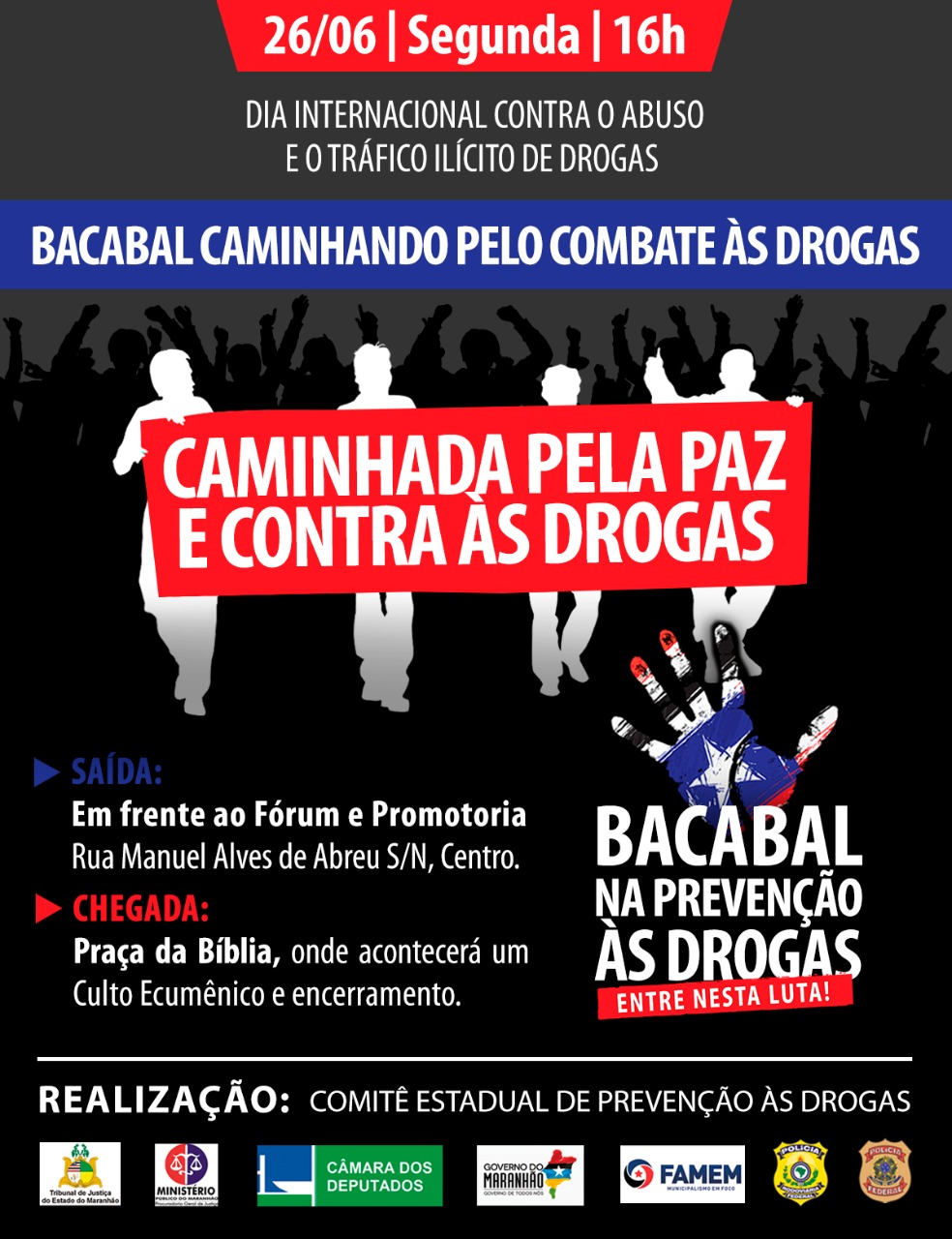 BACABAL CONTRA AS DROGAS