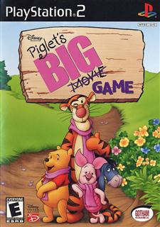 Super Compactado Piglet's Big Game PS2