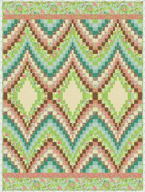 Quilt Inspiration: Free pattern day: Bargello Quilts