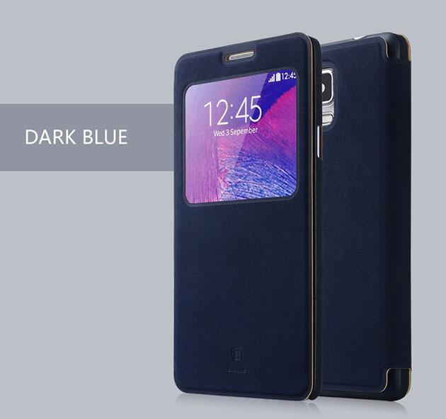 เคส Note 4 รุ่น TERSE 141054 สีน้ำเงินเข้ม