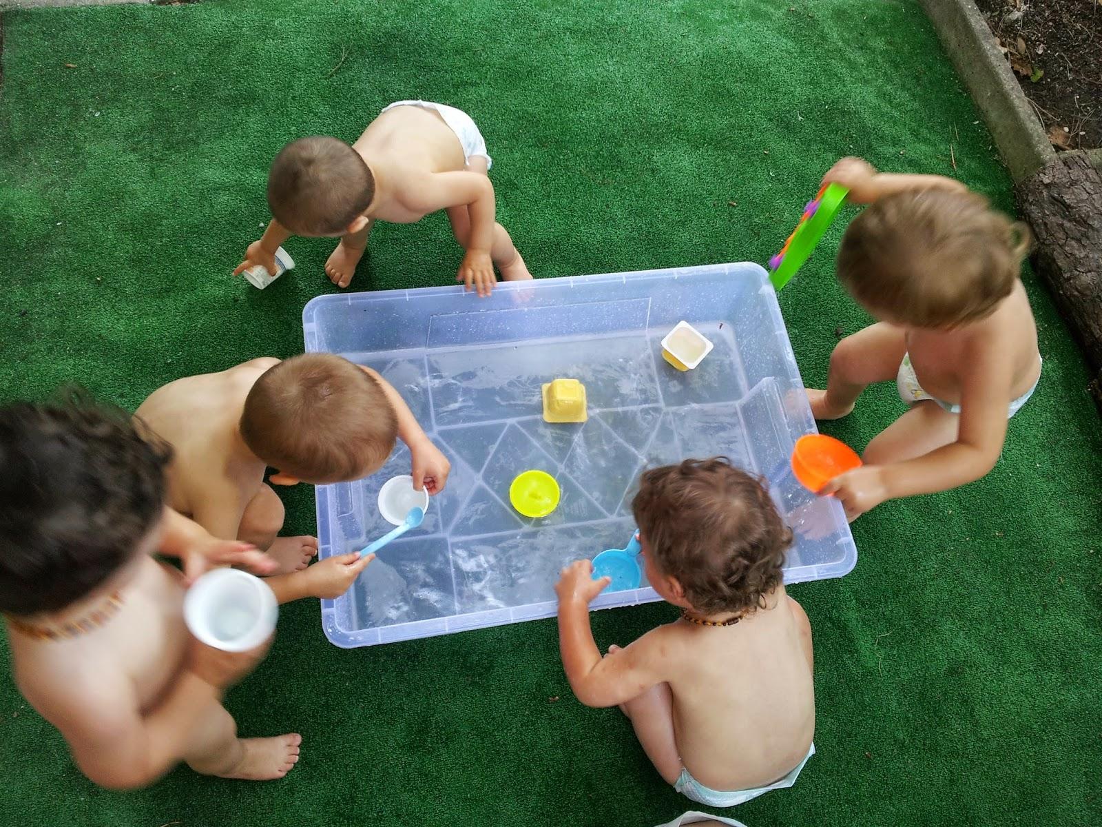 """Eccezionale Servizio Educativo """"I Fenicotteri"""": Giochi di acqua, sensazioni e  MT45"""