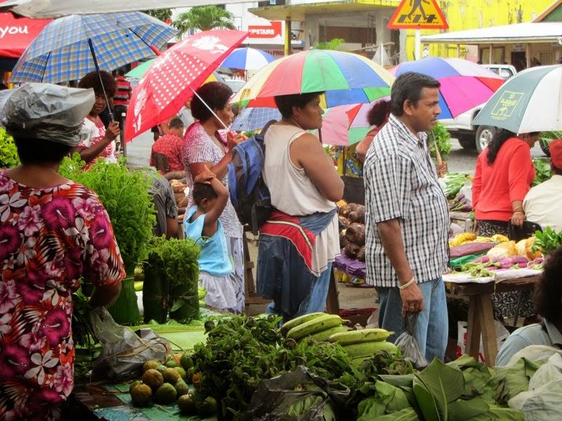 Der Markt in Savusavu