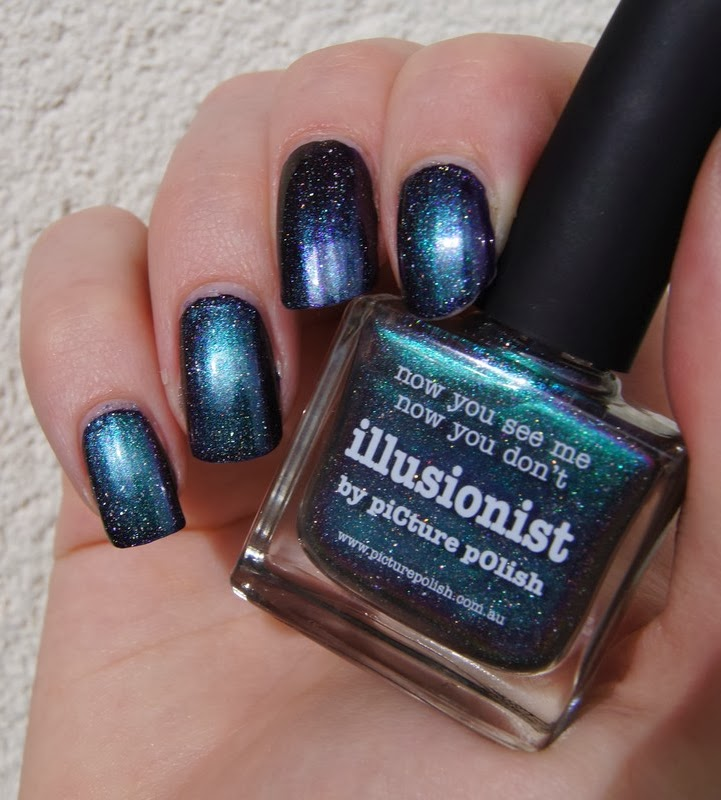 illusionist Picture Polish swatch