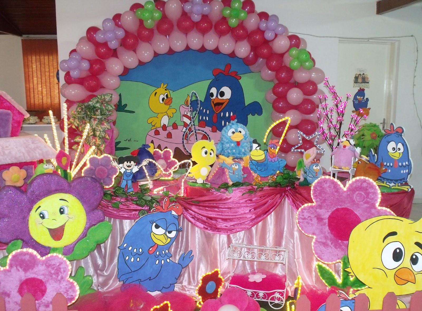 decoracao festa galinha pintadinha rosa:Galinha Pintadinha