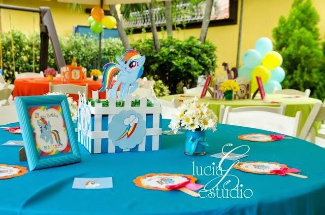 Giggle Bean: my little pony decorations