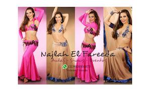 Aulas on-line com Najlah El Fareeda.