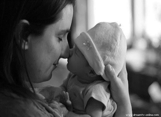 Photo bébé mimi et maman noir et blanc
