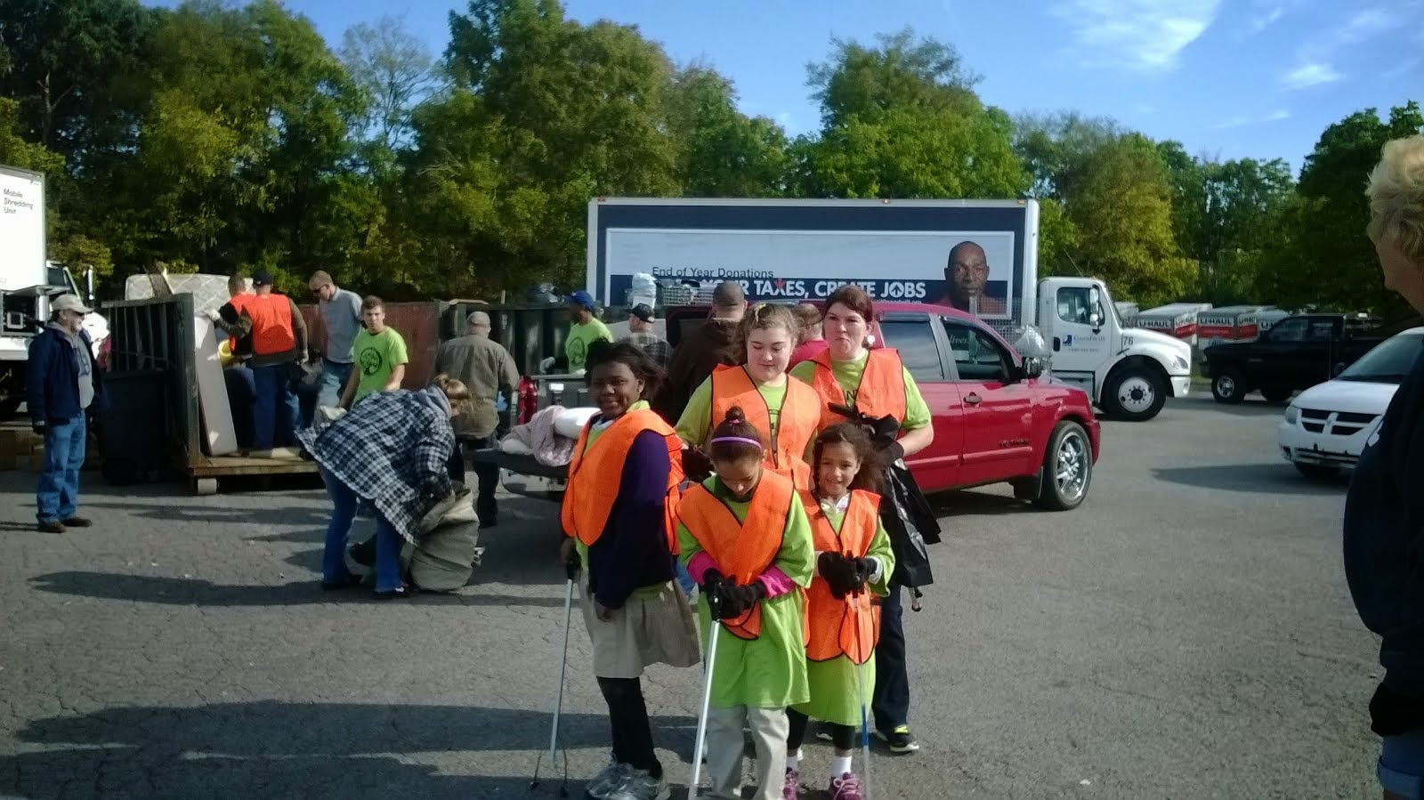 District 29's Fall and Spring Cleanups