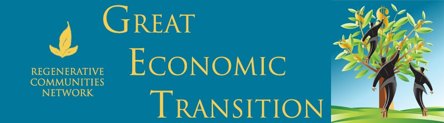 Great Economic Transition - G.E.T. it?