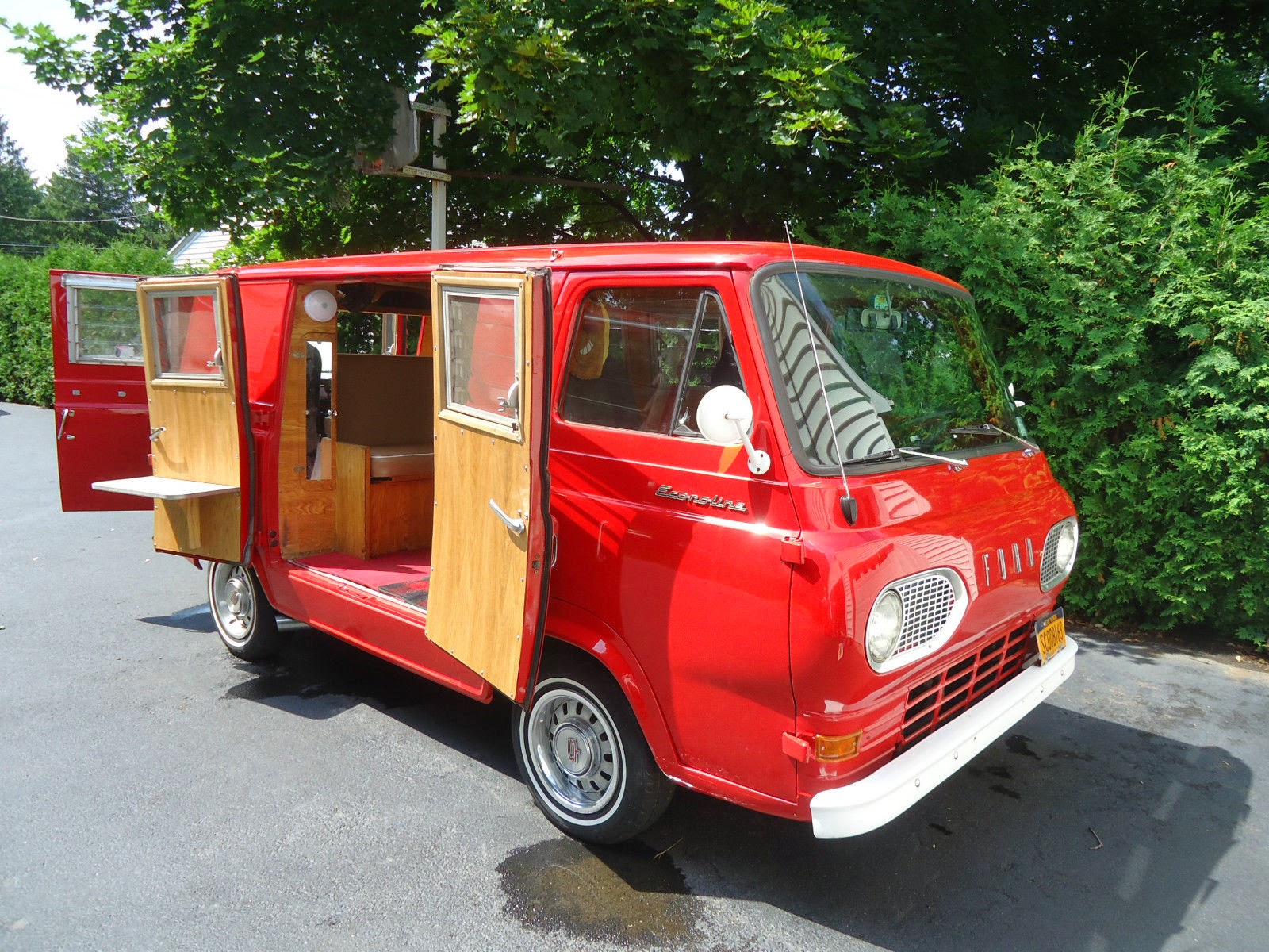 The Van May Have Started Life As A Basic Econoline But It Was Sent To Travco In California For Camper Conversion Originally Rare Dagenham