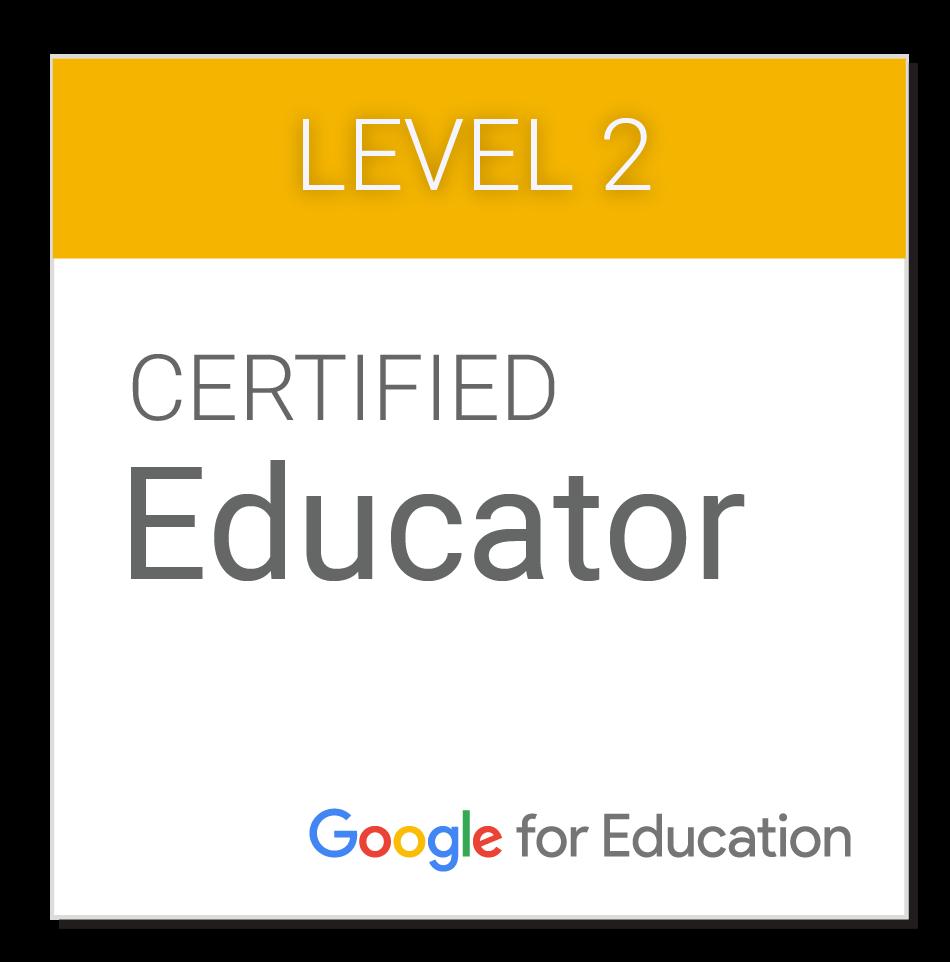 Certificado Google Educator 2