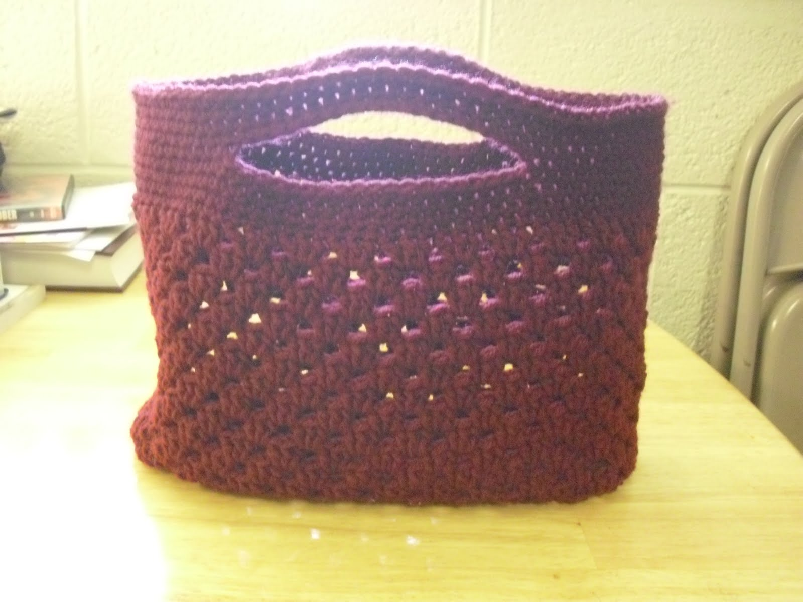 Crochet Craft Bag : Crochet bag