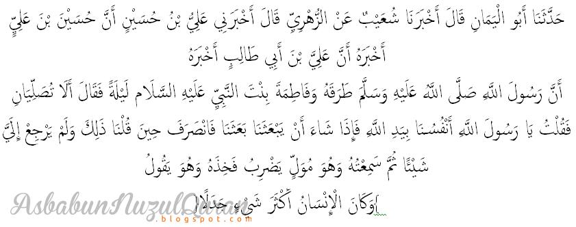 quran surat al kahfi ayat 54