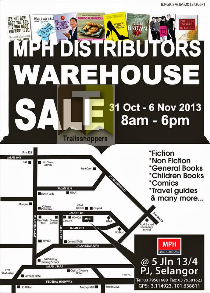 MPH Books Distributors Warehouse Sale 2013