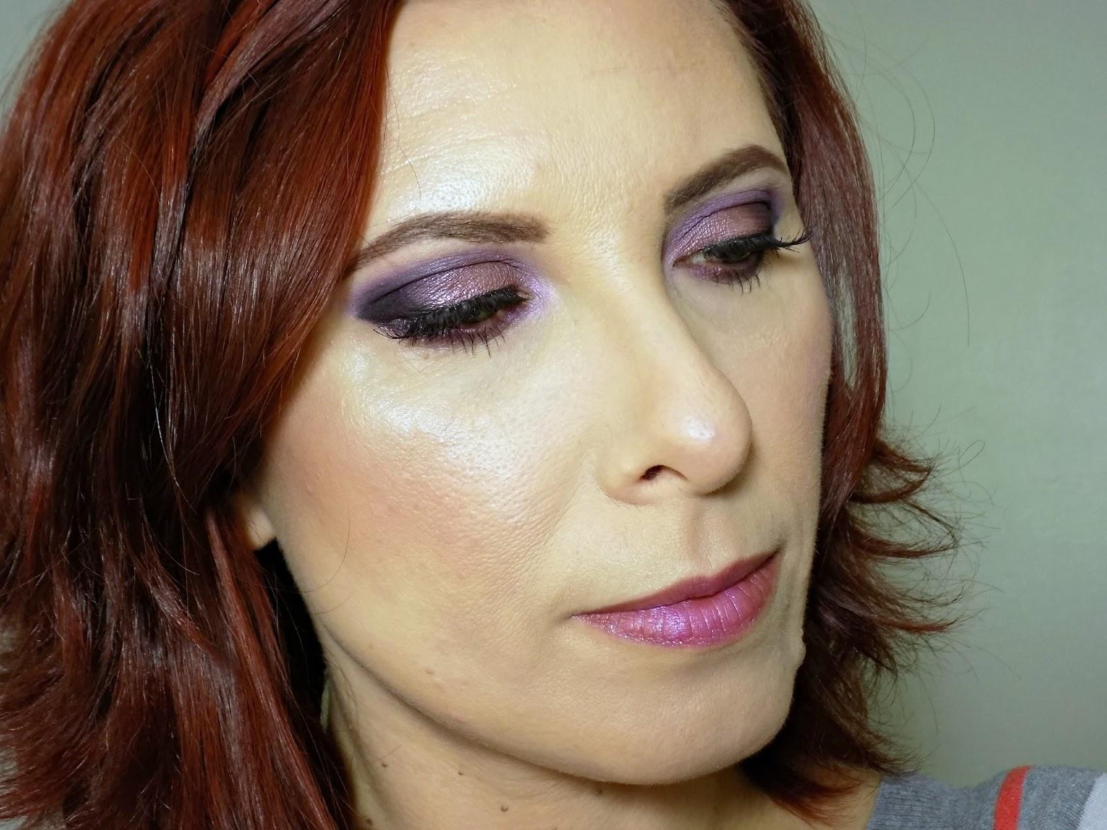 Freedom Makeup 'Vintage Doll Look' palette makeup look