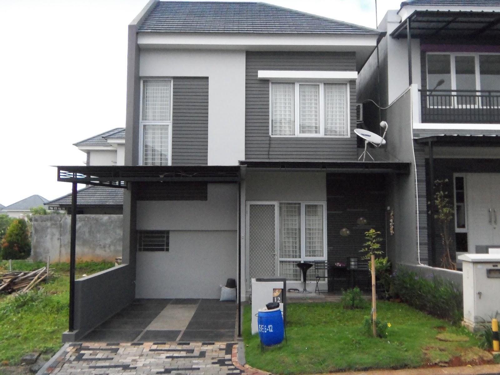 desain rumah minimalis 2 lantai type 70 rumah idaman