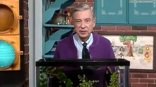 We have not heard many words of sympathy coming from celebrities until    Young Fred Rogers Military