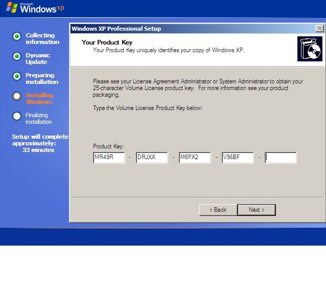 windows by serial key