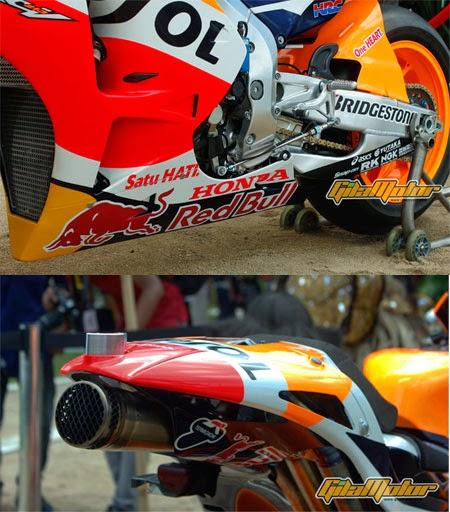 bodi motor Honda RC213V 2015