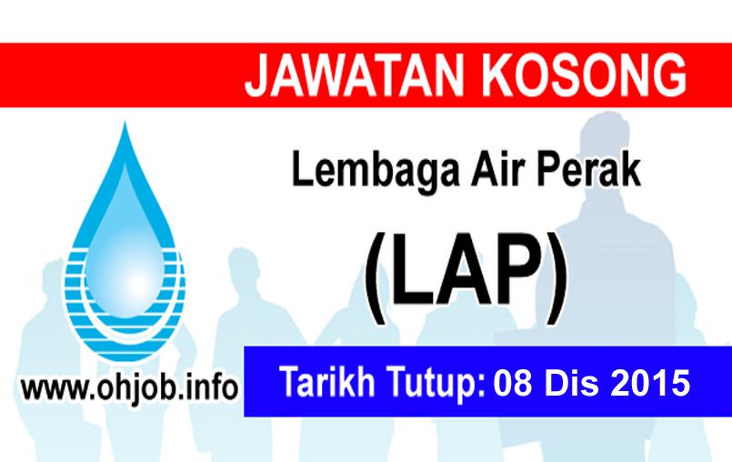 Jawatan Kerja Kosong Lembaga Air Perak (LAP) logo www.ohjob.info disember 2015