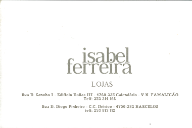 Isabel Ferreira Lojas