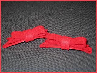 Horquilla lazo rojo - ChikiPol
