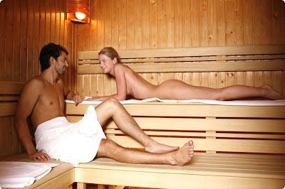 mandi sauna dan kulit sehat