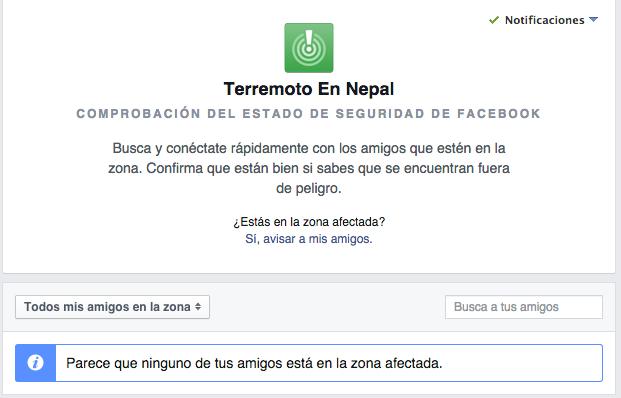 Facebook, Google y Nepal