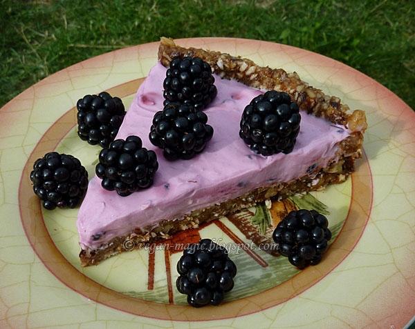 No-Bake Blackberry Tart