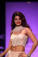Jacqueline Fernandez stunning Designer Gown Absolute Beauty walks Ramp LFW 2013