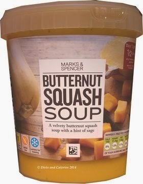 Marks & Spencer Butternut Squash Soup